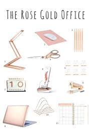 damask office accessories. Damask Office Supplies Fascinating Decoration Rose Gold Desk Accessories Small Size .