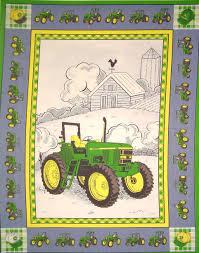 45″ JOHN DEERE TRACTOR QUILT PANEL | Marshall Dry Goods & 45″ JOHN DEERE TRACTOR QUILT PANEL Adamdwight.com