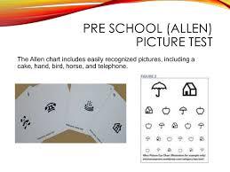 Allen Eye Chart My Ppt