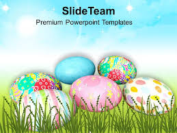Easter Message Of Hope Festival Powerpoint Templates Ppt