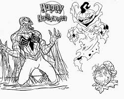 Small Picture Superhero Halloween Coloring Pages esonme