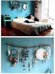 Dream Catcher Headboard Interesting Bohemian Headboard Bohemian Bedroom Decor Bohemian Bedroom Decor