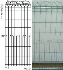 decorative wire fence panels. Decorative Wire Garden Fence Fencing Panels A