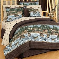 rustic chic comforter turquoise western bedding bear quilts bedding rainbow bed set lodge sheets