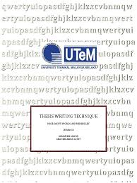 Thesis Writing Technique Using Microsoftword And Mendeley 1