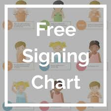 Learn Sign Language With This Free Video Lesson Printable