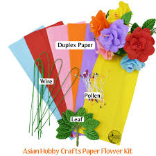 Paper Flower Kit Diy Paper Flower Making Kit Dp
