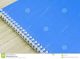 Idea office supplies Cubicle Blank Blue Book Empty Cover Book Spiral Stationery School Supplies For Education Business Idea Book Cover Blank Blue Book Empty Cover Book Spiral Stationery School Supplies