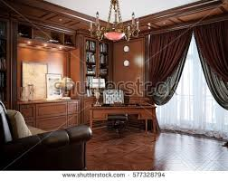 classic office design. Home Office Interior Design Classic Style Stock Illustration 577328794 - Shutterstock