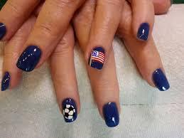 Types Of Nail Designs World Cup Nail Art America Soccer Nails Nail Art Nails