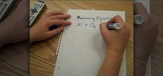 how to balance chemical equations the fun way