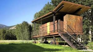 Contemporary Cabins Modern Cabin Plans Modern House
