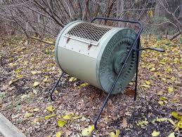 metal compost bin a metal drum compost tumbler bin in a garden metal compost bin kitchen metal compost bin