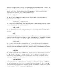 Strengths In Resume Inspiration 665 Strengths For Resume So 24 Identify Core Strengths For Teacher Resume