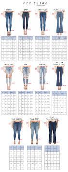 Fit Us Size Chart Size Chart