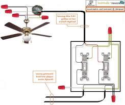 ceiling fan wire diagram