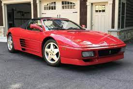 This is a documented, 4k mile that looks and drives exceptionally well. 1995 Ferrari 348 Spider For Sale On Bat Auctions Closed On September 11 2019 Lot 22 761 Bring A Trailer