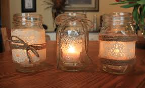 How To Decorate Candle Jars How To Make Candles In A Jar Candles In Mason Jar 8