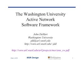 June 2000 Msr Design 1 Washington Washington University In St Louis ...