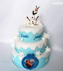 Frozen taart decoratie