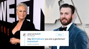 Jamie Lee Curtis and Chris Evans have adorable Twitter exchange during the  Oscars - Culture