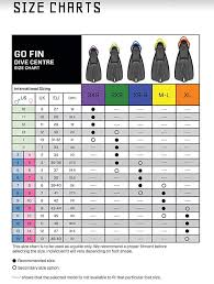 Scubapro Rock Boots Size Chart Scubapro Go Fin Size Chart Best Picture Of Chart Anyimage Org