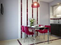 hit dining room furniture small dining room. Airy One Wall Kitchen Plan Small Dining Room Ideas Glass Square Table Coupled Comfy White Fabric Seat Black Chair Wooden Hit Furniture B