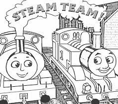 Full Page Thomas The Train Coloring Pages Cartoon Coloring Pages