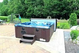 above ground spas in ground ideas backyard ideas for hot tubs and swim spas above ground in ground above ground spas houston tx in ground spas cost