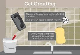 How To Grout Tile Backsplash Collection Best Inspiration Design