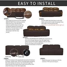 easy going 8 pieces recliner sofa