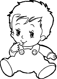 Small Picture Baby Boy Coloring Pages Wecoloringpage