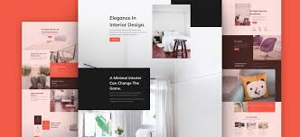 Interior Design Brochure Template Adorable Download A Free Refreshing Interior Design Layout Pack For Divi