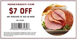 honey baked ham coupons.  Coupons Enjoy 7 Off Your Order On Honey Baked Ham Coupons D