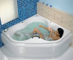 corner whirlpool tub the perfect solution for small bathrooms bathroom