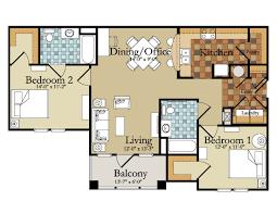 modern 2 bedroom apartment floor plans luxury floor plan simple house plans in kenya amaze sensational
