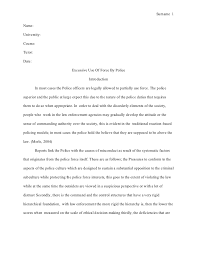 police brutality argumentative essay advanced homework for mla style term paper excessive use of force by police view larger police brutality essay