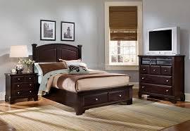 Hamilton Bedroom Furniture Hamilton Franklin Storage Bedroom Set Merlot Vaughan Bassett