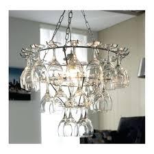 wine glass chandelier tesco direct for wine glass chandelier kit