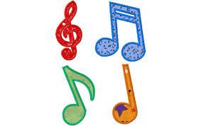 Machine Applique Designs Musical Notes Free Machine Applique Designs Daily Embroidery