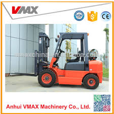 Manual 2.5t Lpg Forklift With Chinese Gq-4y Engine And Penumatic ...