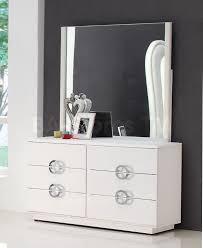 Modern Bedroom Dressers Brilliant Carmen White Modern Bedrooms Bedroom Furniture Also