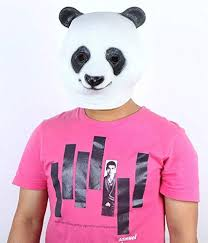 Panda Head Mask Halloween Costume Party Christmas Theater