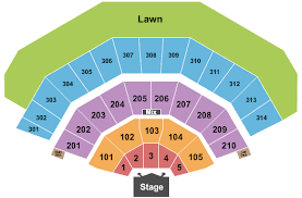 Row Seat Number Bmo Harris Pavilion Seating Chart American Family Insurance Amphitheater Milwaukee Tickets And