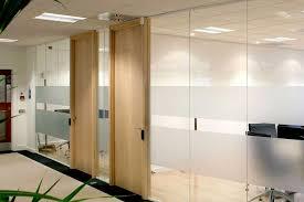 glass office doors s timber lovely divider