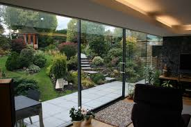 structural glass sliding door