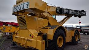 Grove Rt760 Load Chart 1991 Grove Rt760 Crane For Sale In Saint Mathieu De Beloeil