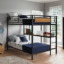 better homes gardens austen full over twin bunk bed with open bookshelves com
