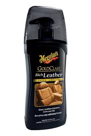 meguiar s g17914 gold class rich leather cleaner conditioner 13 5 oz