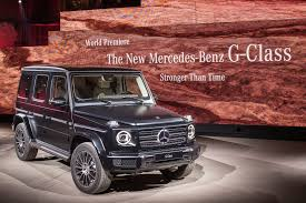 You can quickly see the different trim prices as well as other model information. Mercedes G Class 2018 Pictures Specs And Info Car Magazine
